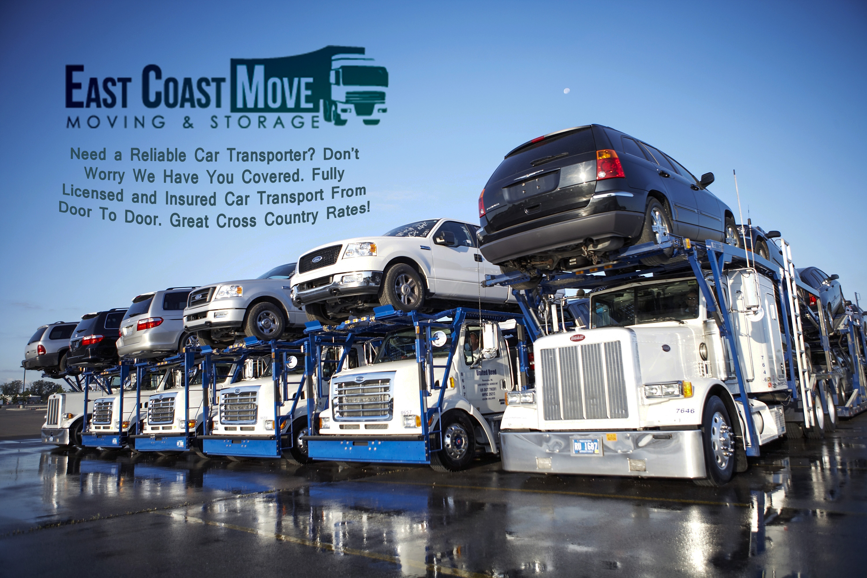 East Coast Auto Shipping Department East Coast Moving & Storage